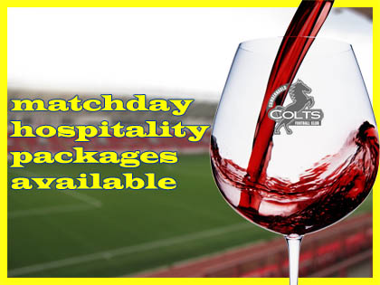 Cumbernauld Colts Hospitality Packages